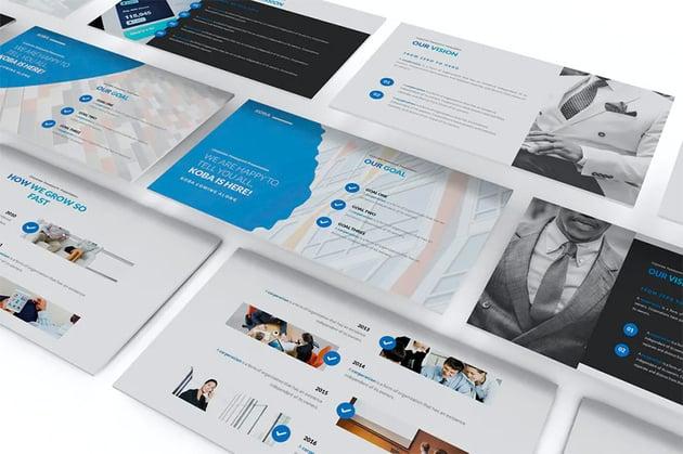 Koba Slides design for presentation