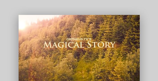 Magical trailer After Effects templates