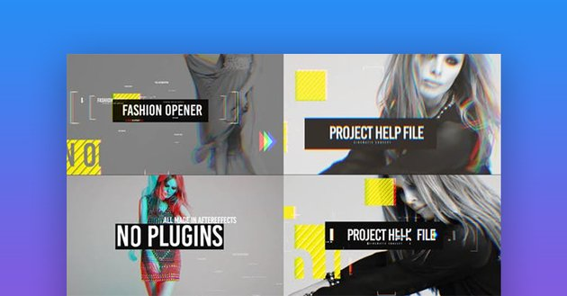 Opener AE Project templates