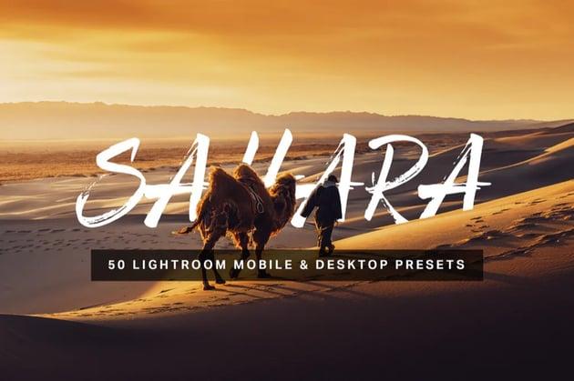 50 sahara lightroom presets