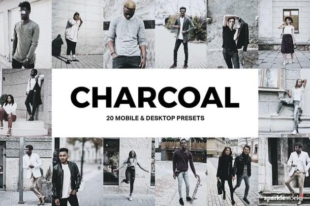 Charcoal Lightroom presets