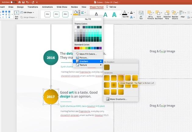 Step 2 PowerPoint agenda template