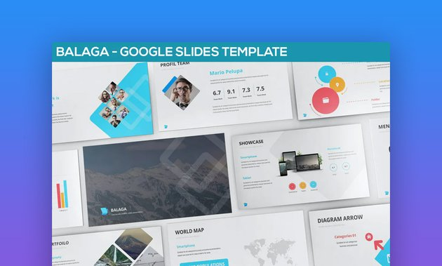 Balaga Google Slides business themes