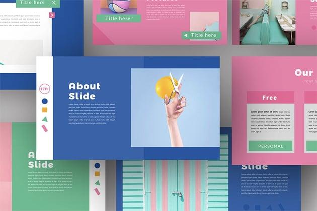 Background best presentation colors