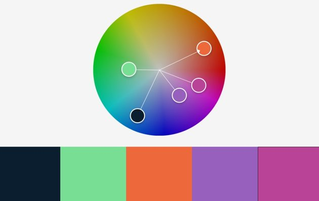 Colors dumaine colorful PowerPoint templates