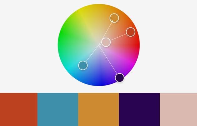 Colors Svage PowerPoint color schemes templates