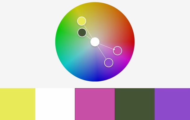 Colors rainbow PowerPoint template