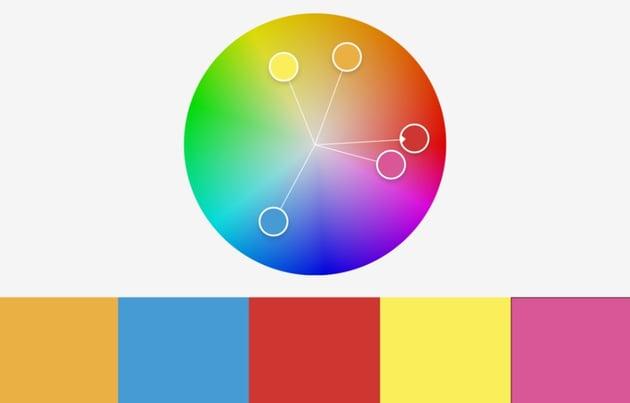 Colors sky rainbow PowerPoint background templates