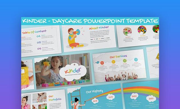 Rainbow PowerPoint background templates
