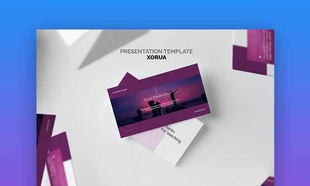 Purple PowerPoint background