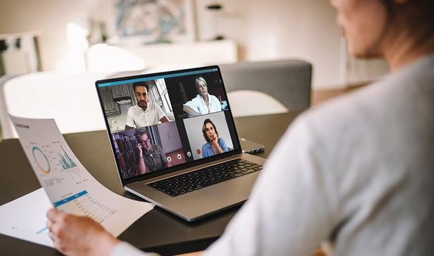 Managing remote teams image