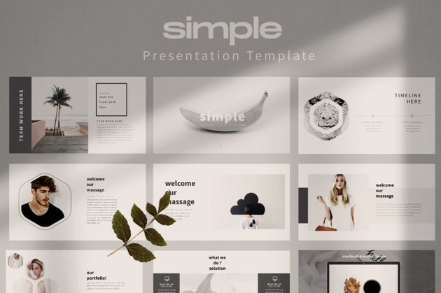 Share creative ways to present a project