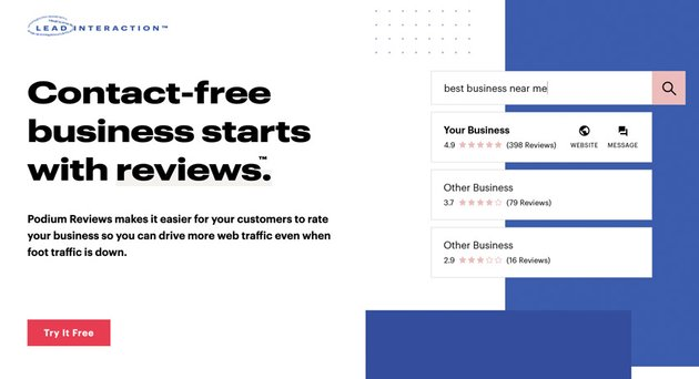 Podium business reviews