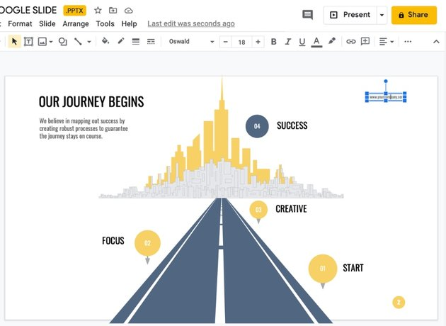 Edit infographic themes