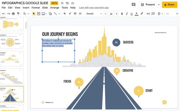Infographic Google Slides