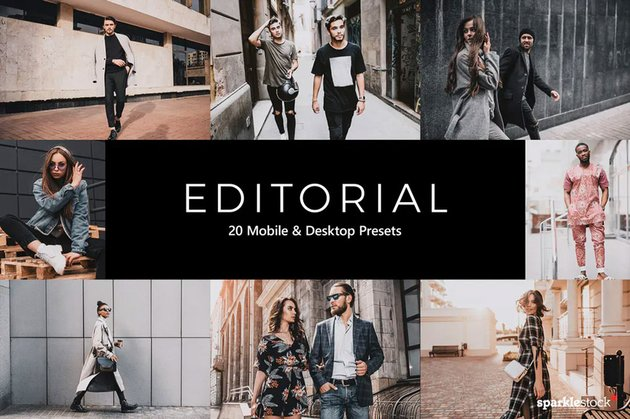 Editorial Lightroom presets