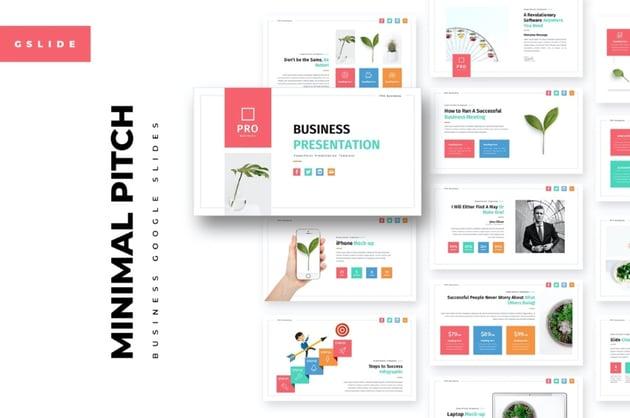 Inspired Google Slide deck templates