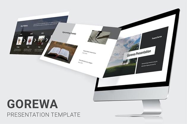 Gorewa funeral PowerPoint