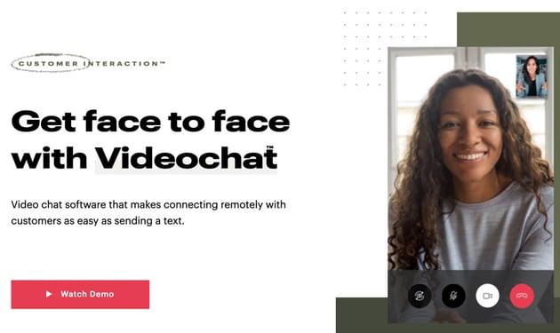 Podium video chat customer service