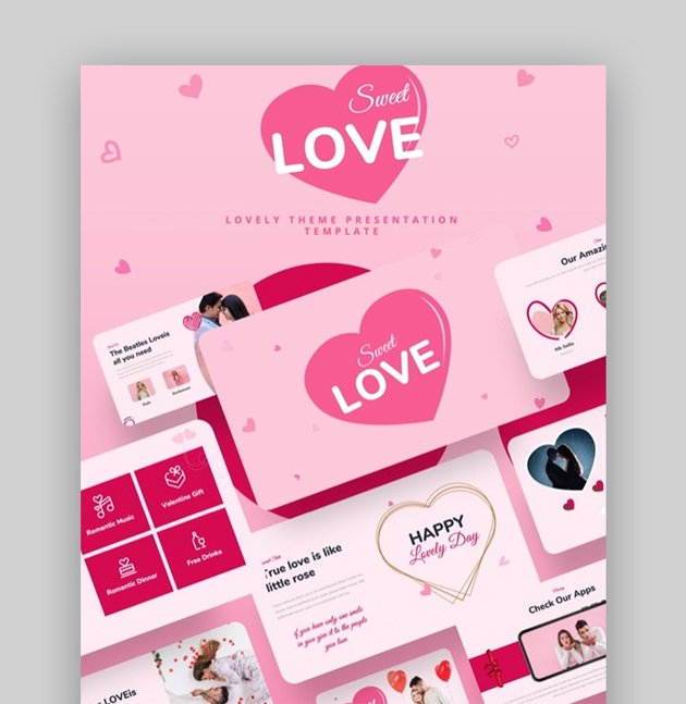 Love PowerPoint template