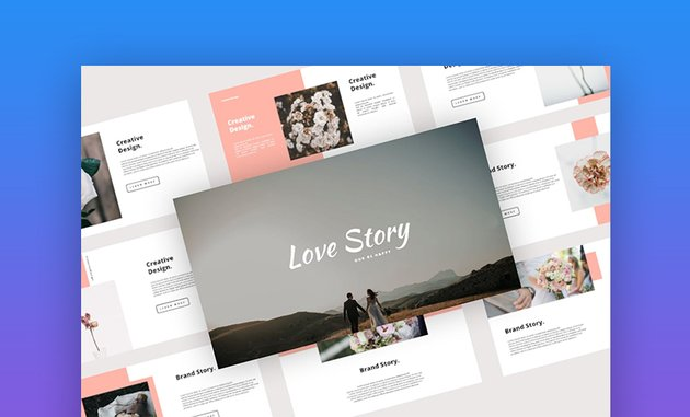 Love PowerPoint template background