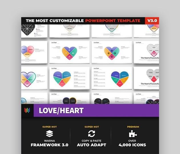 Love presentation template