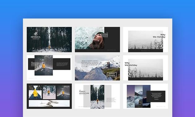 Nevasca digital presentations
