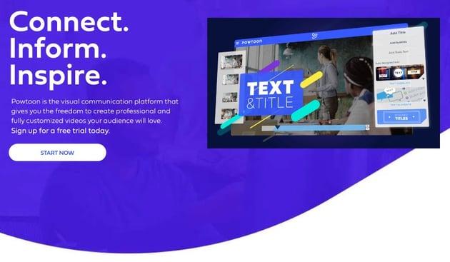 Powtoon alternatives to PowerPoint