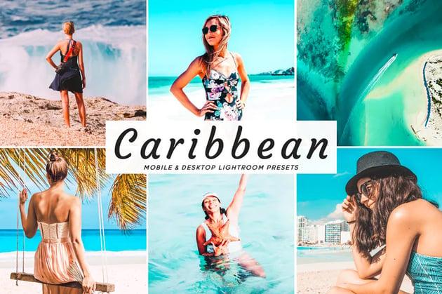 Caribbean Lightroom presets
