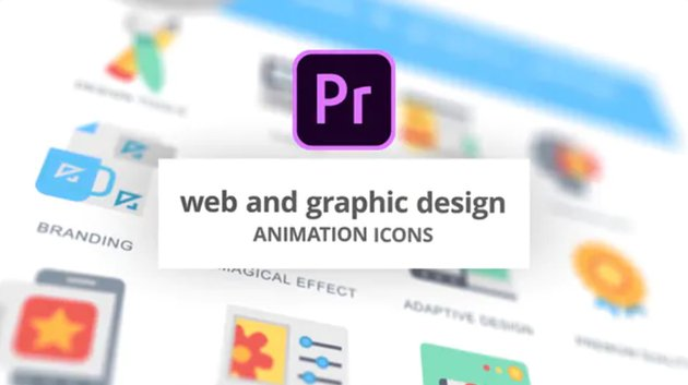 Web and design animation icons