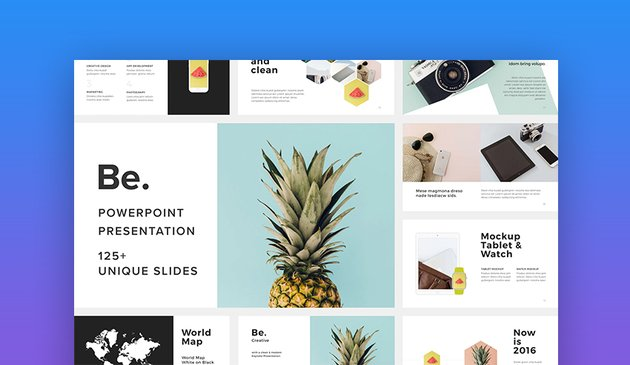 Be PowerPoint online template