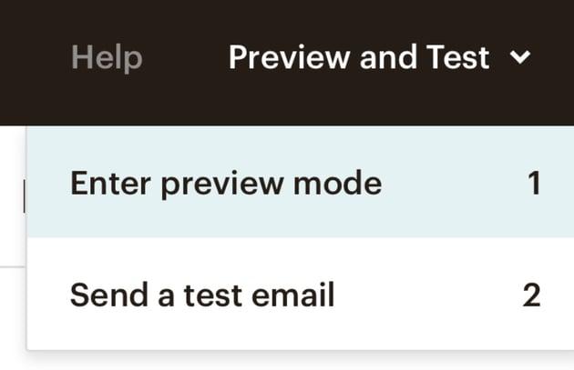 Send Mailchimp newsletter templates