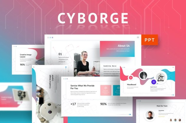 Cyborge cyber security PPT download