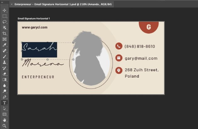 Name email signature design inspiration updated