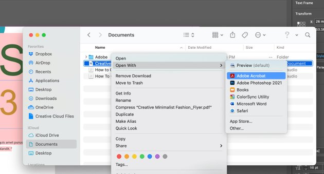 How to save InDesign file as Word Doc