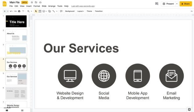 Drag and drop how to make interactive Google Slides