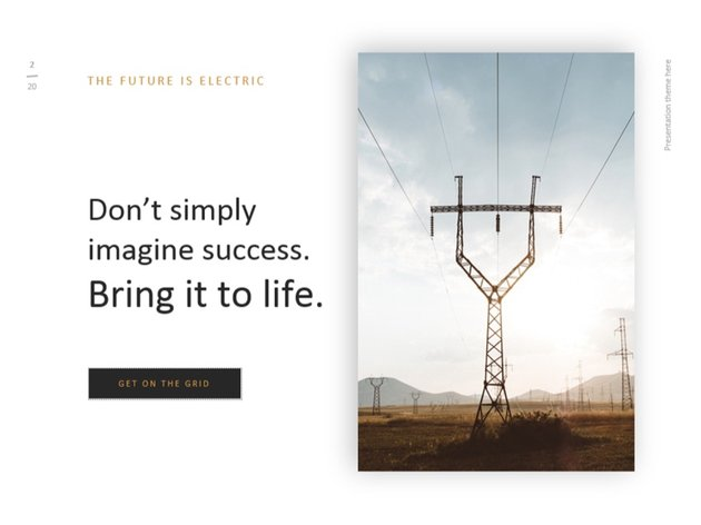 add quote motivational slide