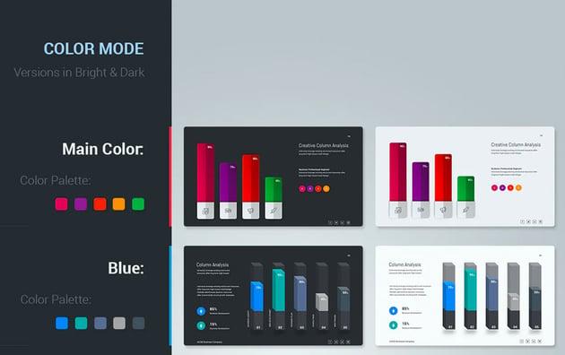Axom Google Slides presentation themes