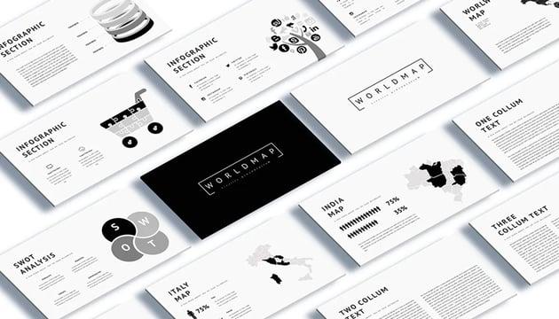 infographics Google Slides presentation themes