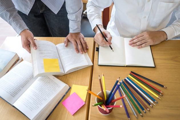 employee led tutoring national literacy day