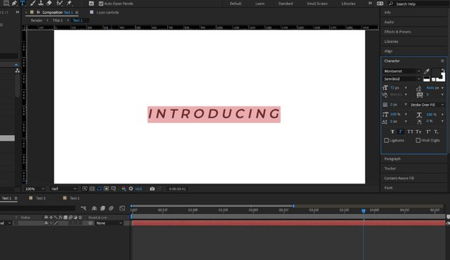 Adobe After Effect templates
