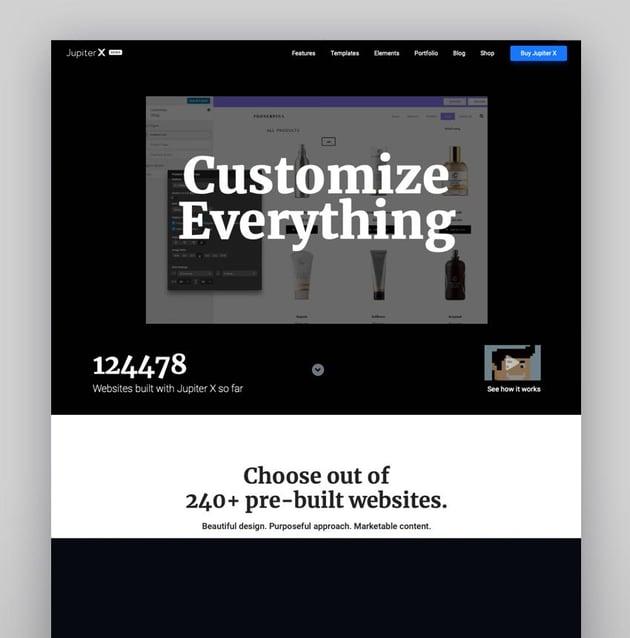 Jupiter WordPress Multipurpose Theme With Visual Composer