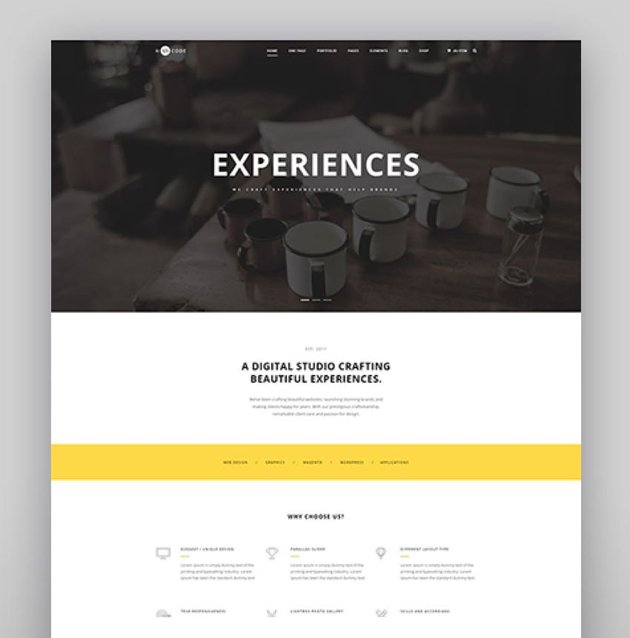 H-Code Responsive  Multipurpose WordPress Theme