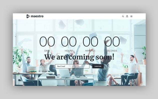 Maestro - Business Wordpress Theme