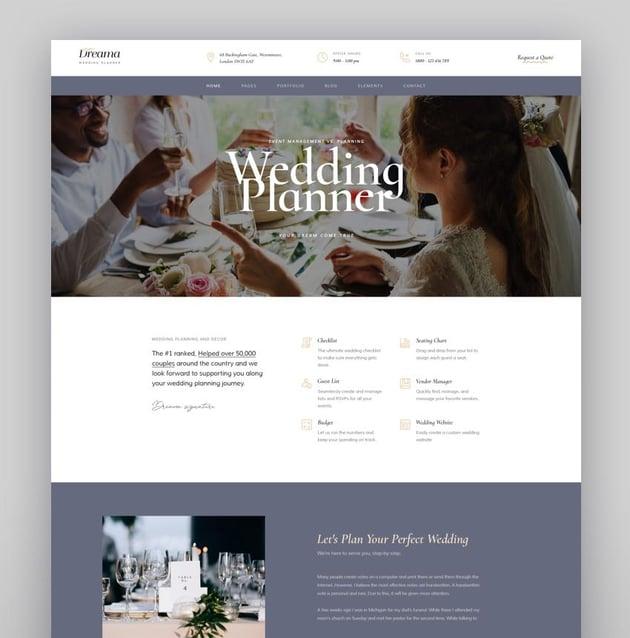 Lavelo - Wedding WordPress Theme