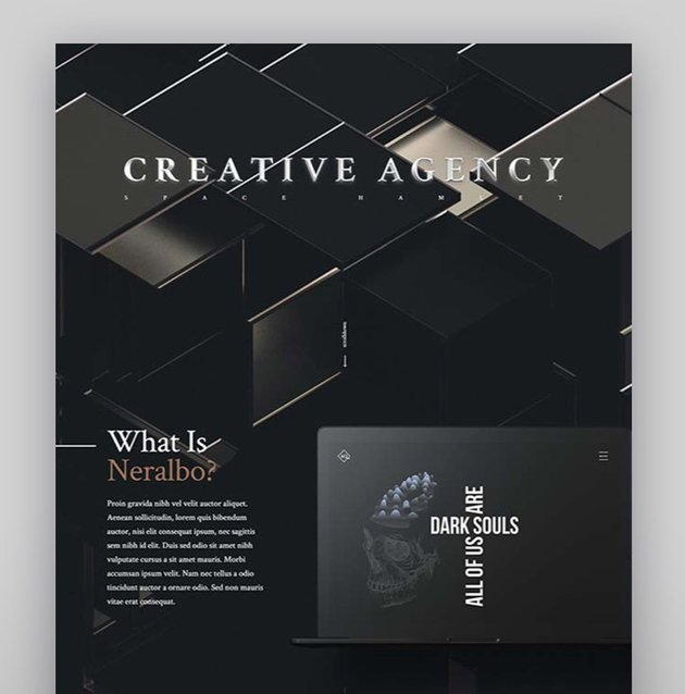 Neralbo - Creative Portfolio Theme