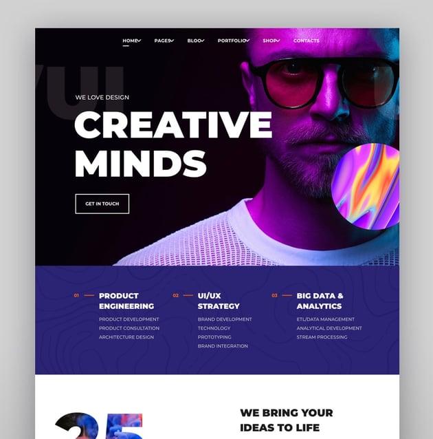 InPulse - Creative Agency WordPress Theme