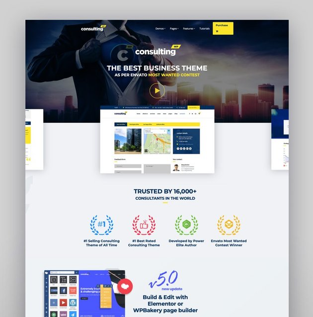Consulting - Business Finance WordPress Theme