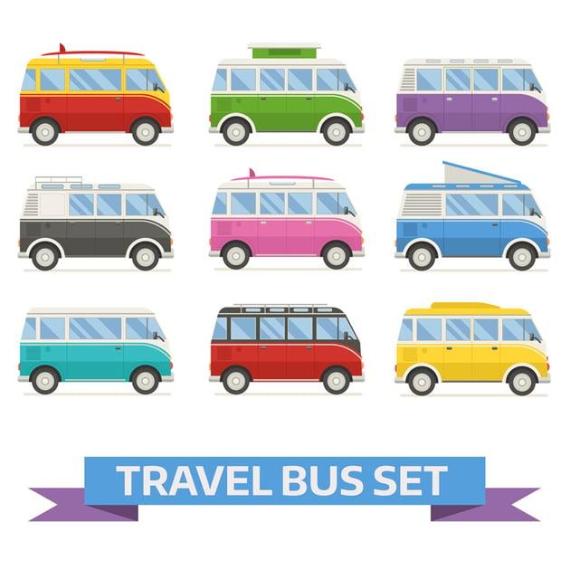 Travel Van Bus Collection