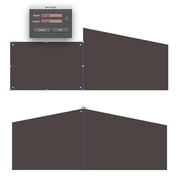 Building a second rectangle shape